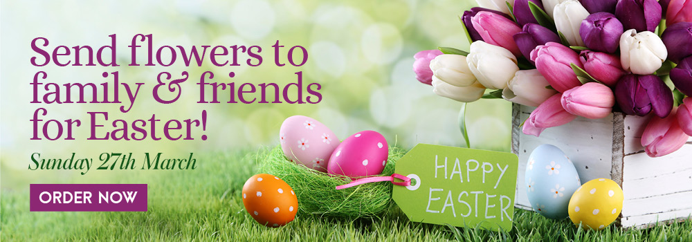Easter Flowers by Impulse Flowers 01382 227 521